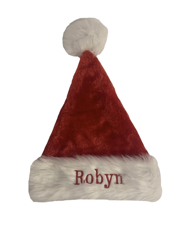 Personalised Adults Santa hat