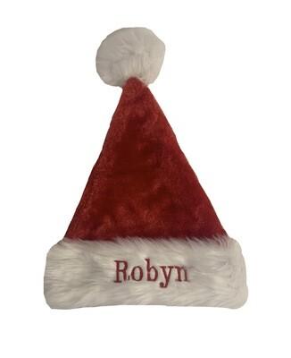 Personalised Children's santa hat