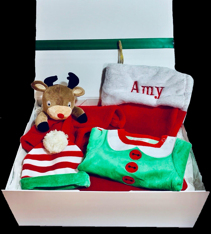 Christmas baby gift box