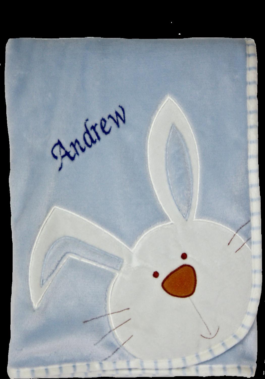 Blue Bunny Blanket