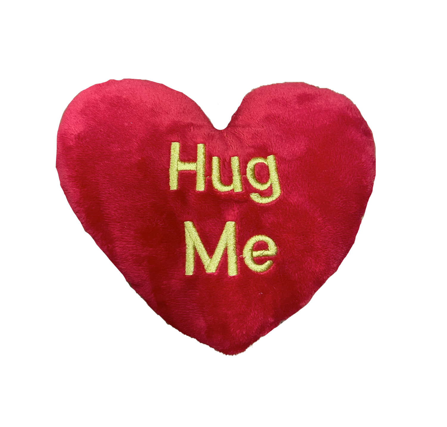 Large hug me pillow red and gold