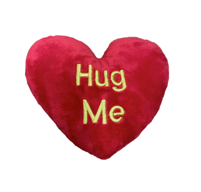Extra Large hug me pillow red and gold
