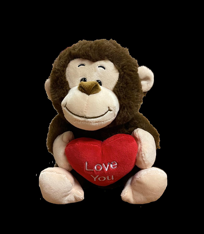 Large Love you monkey