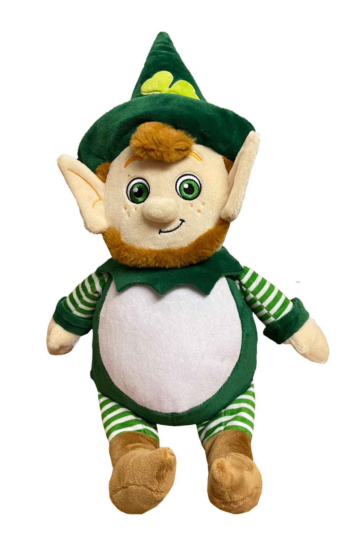 Leprechaun cubbie teddy