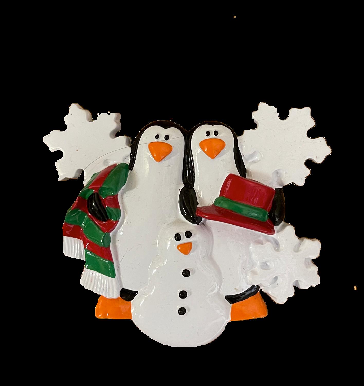 Penguine couple  Ornament
