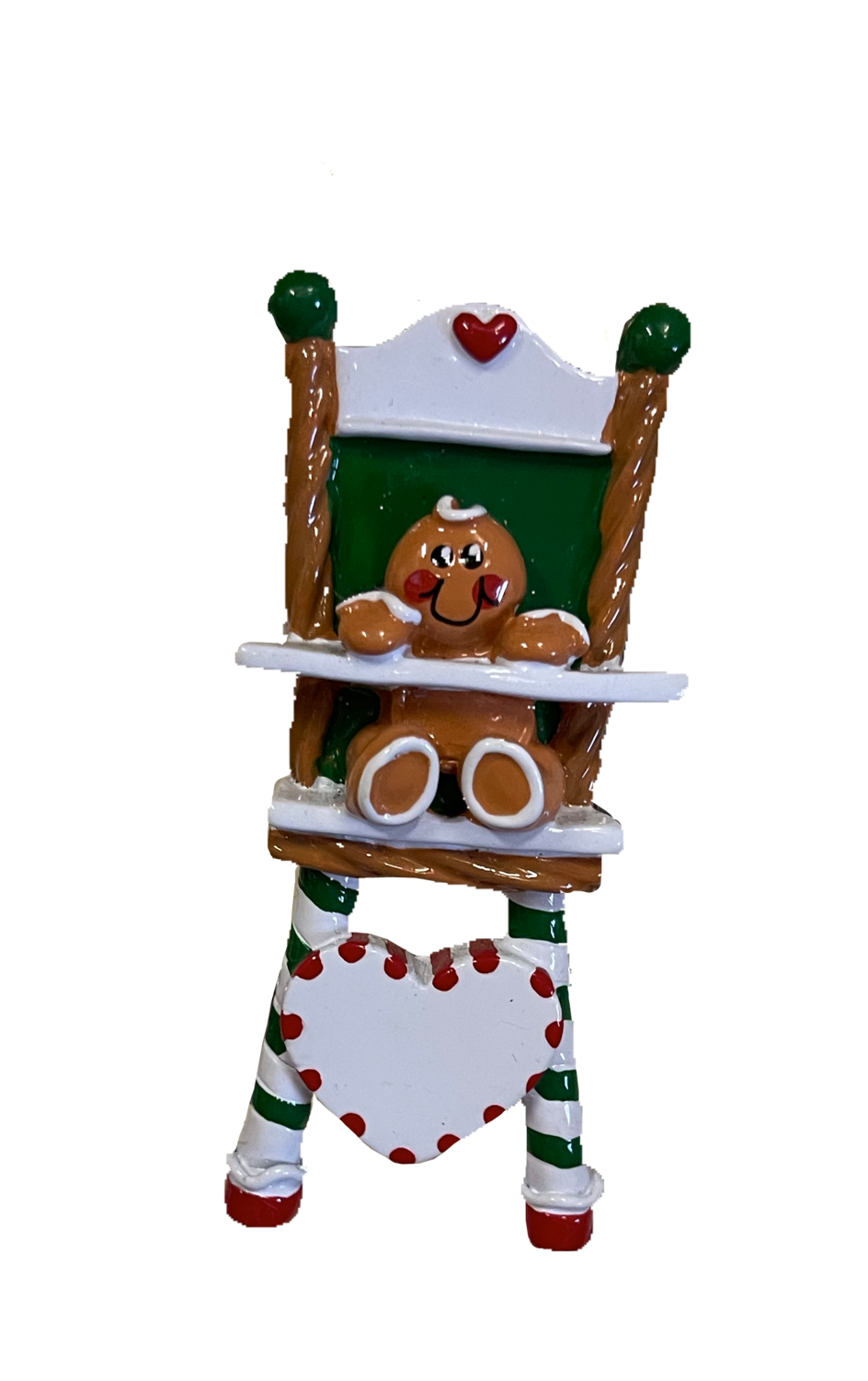Baby ginger bread tree ornament