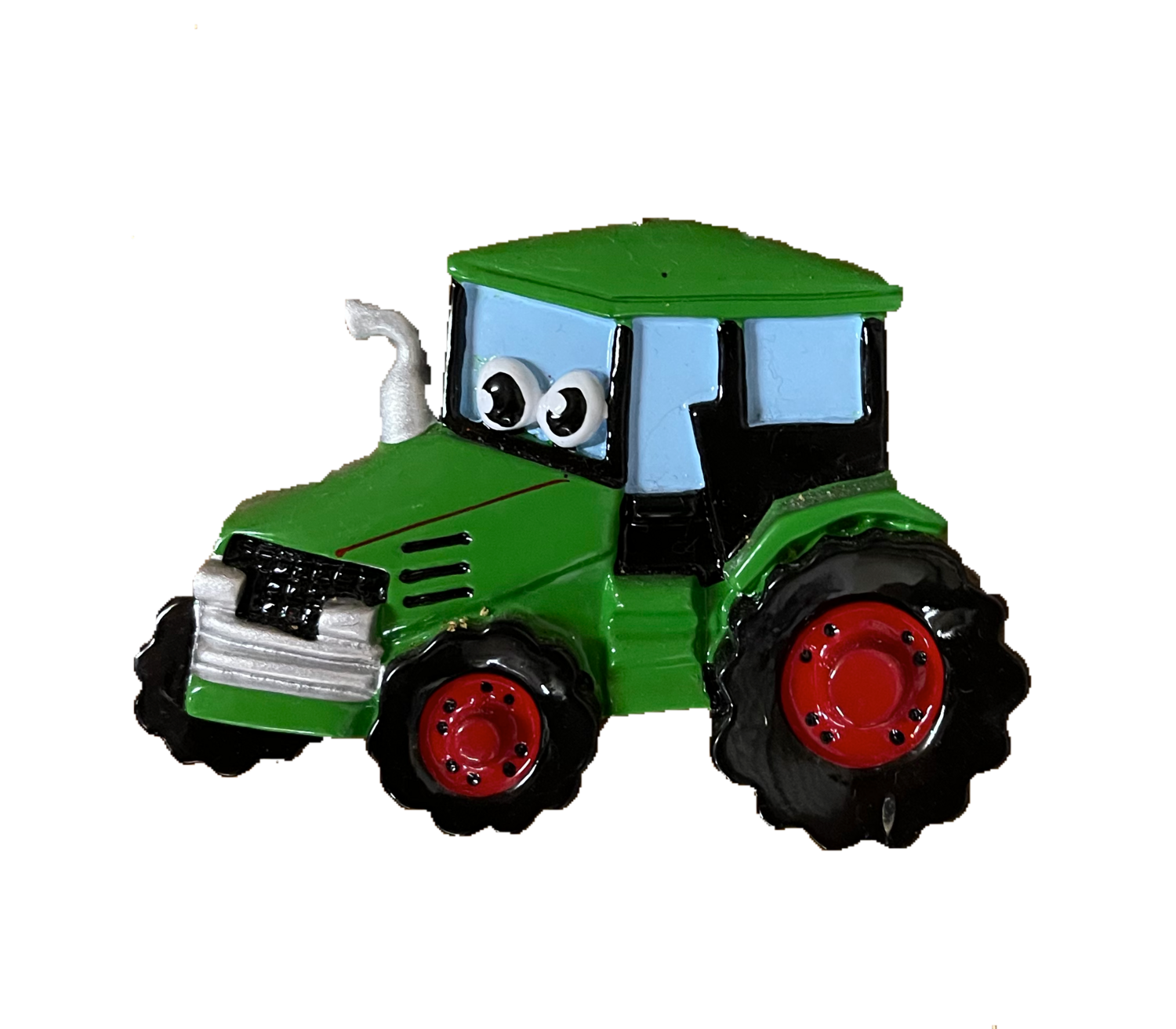 Tractor Christmas tree ornament