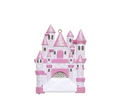 Princess castle ornament