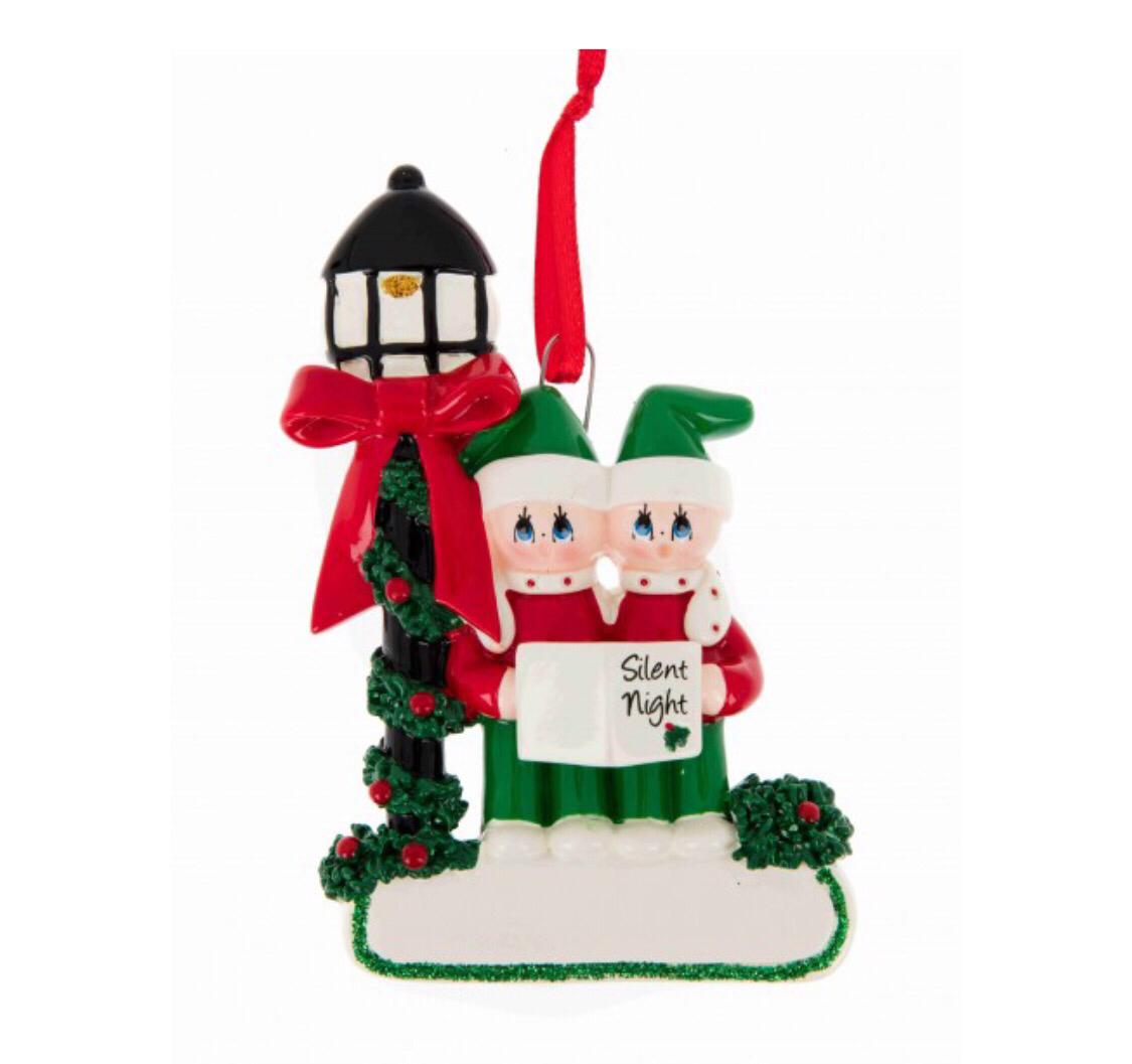 Christmas carol couple Ornament