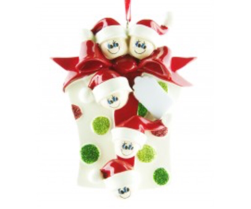Gift family of five ornament
