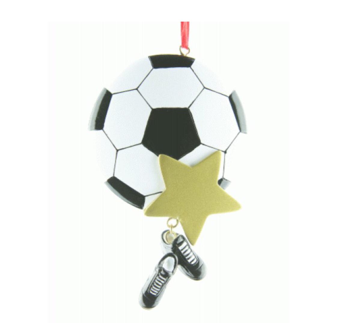 Football star ornament