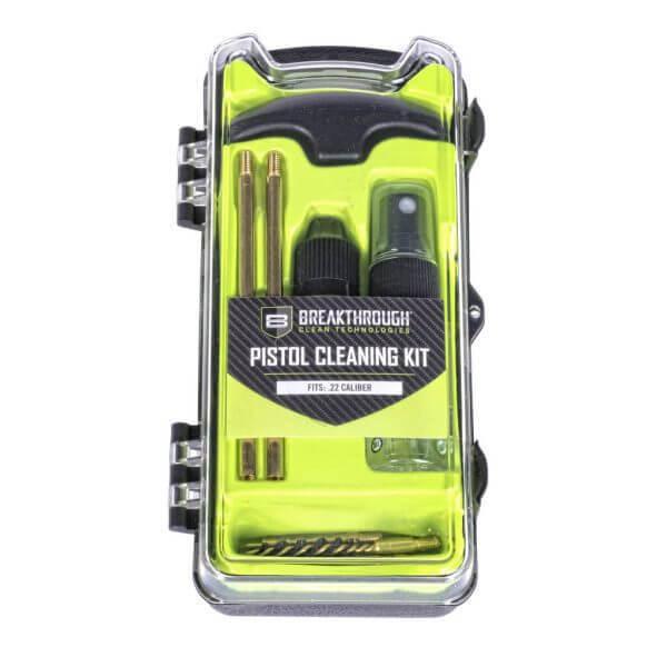 Breakthrough Vision Series Pistol Cleaning Kit – .22 Cal BT-ECC-22