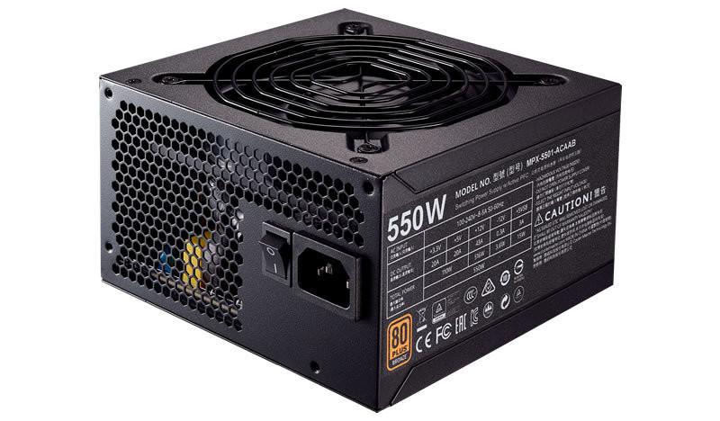 Cooler Master Power Supply MWE Bronze 550  MPX-5501-ACAAB-UK
