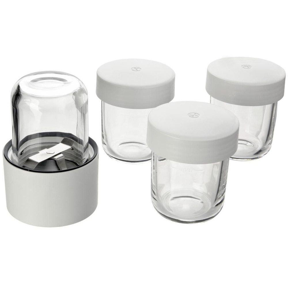 Kenwood Mini Chopper / Mill 4 Glass Jars AT320A