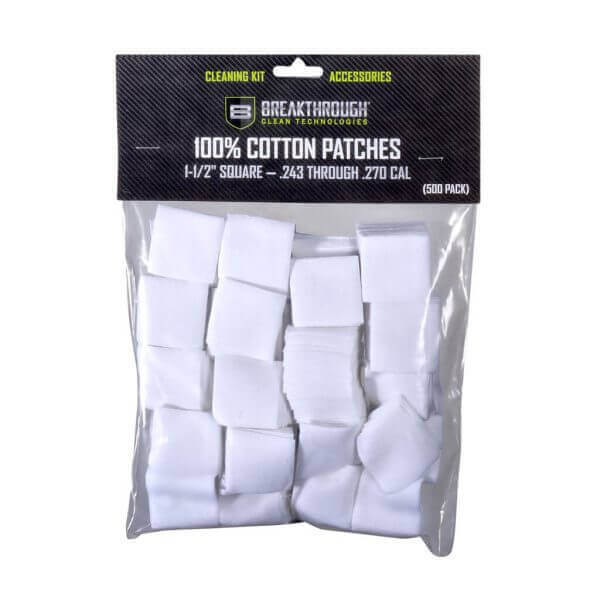 "Breakthrough Square Cotton Patches - 1-1/2"" x 1-1/2"" - 600pcs BT-CP-S-1-1/2""-600"