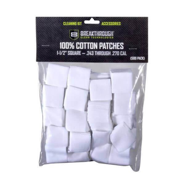 """Breakthrough Square Cotton Patches - 1-1/2"""" x 1-1/2"""" - 600pcs BT-CP-S-1-1/2""""-600"""