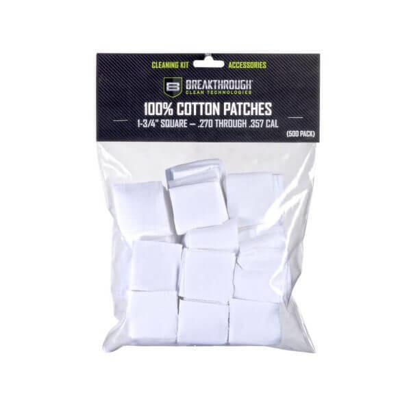 """Breakthrough Square Cotton Patches - 1-3/4"""" x 1-3/4"""" - 500pcs BT-CP-S-1-3/4""""-500"""