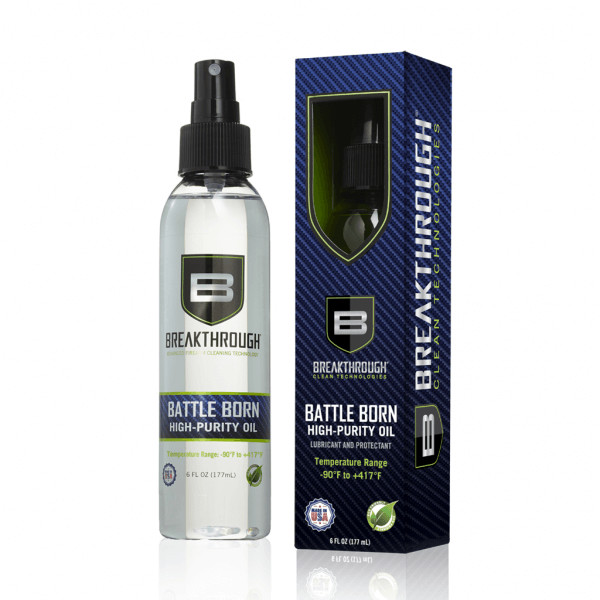 Breakthrough Clean Battle Born High Purity Oil 6 fl oz (177ml) Spray Bottle BTO-6OZ
