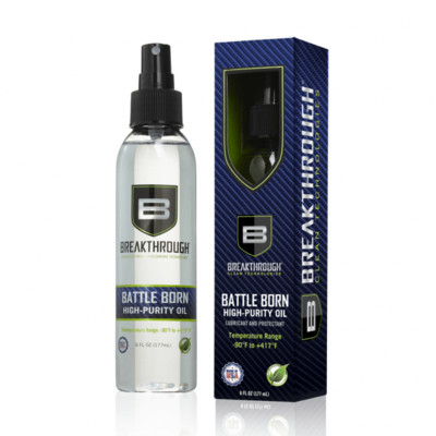Breakthrough Clean Battle Born High Purity Oil 6 fl oz (177ml) Spray Bottle BTO-6OZ