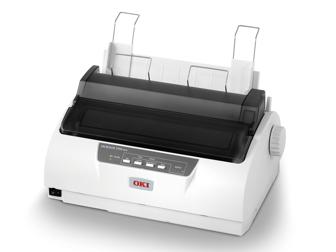 OKI 24 Pin Dot Matrix Printer ML1190 Plus c/w Power Cord & USB Cabe