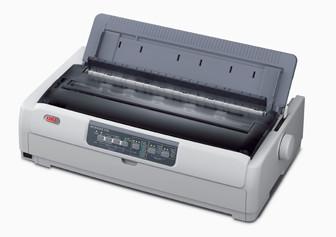 OKI 24 Pin Dot Matrix Printer ML5791 (c/w Power Cord & USB Cable