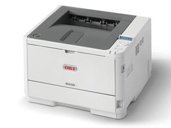 OKI Mono Printer B432dn (c/w Power Cord & USB Cable)