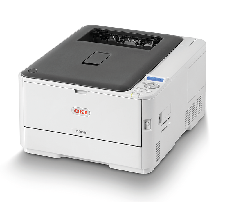 OKI Colour Printer C332dn (c/w Power Cord)