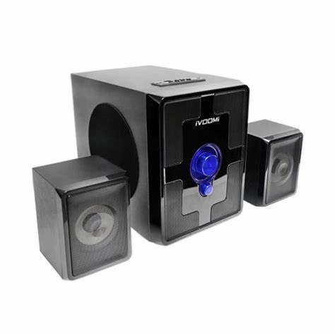 iVoomi IVO-2103 SUF-BT 2.1 Multimedia Speaker (USB, AUX, SD, FM, Bluetooth)