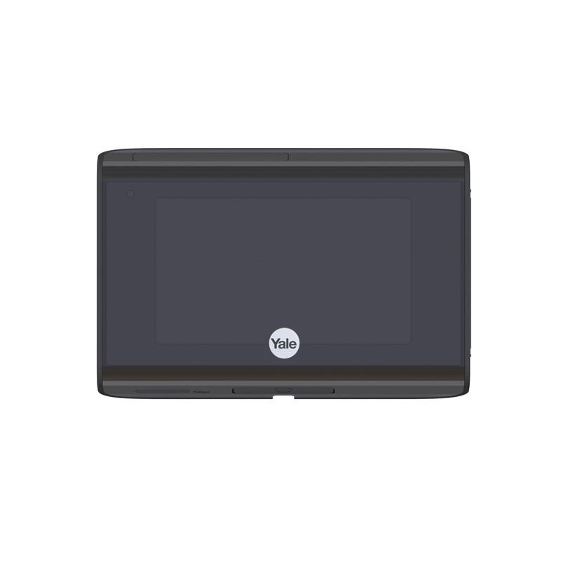 Yale Look Digital Door Viewer Wi - Fi Version Silver