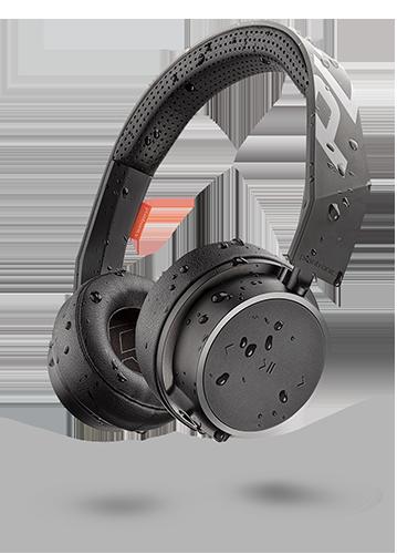 Plantronics Backbeat Fit 505 Wireless on Ear Sport Headphones