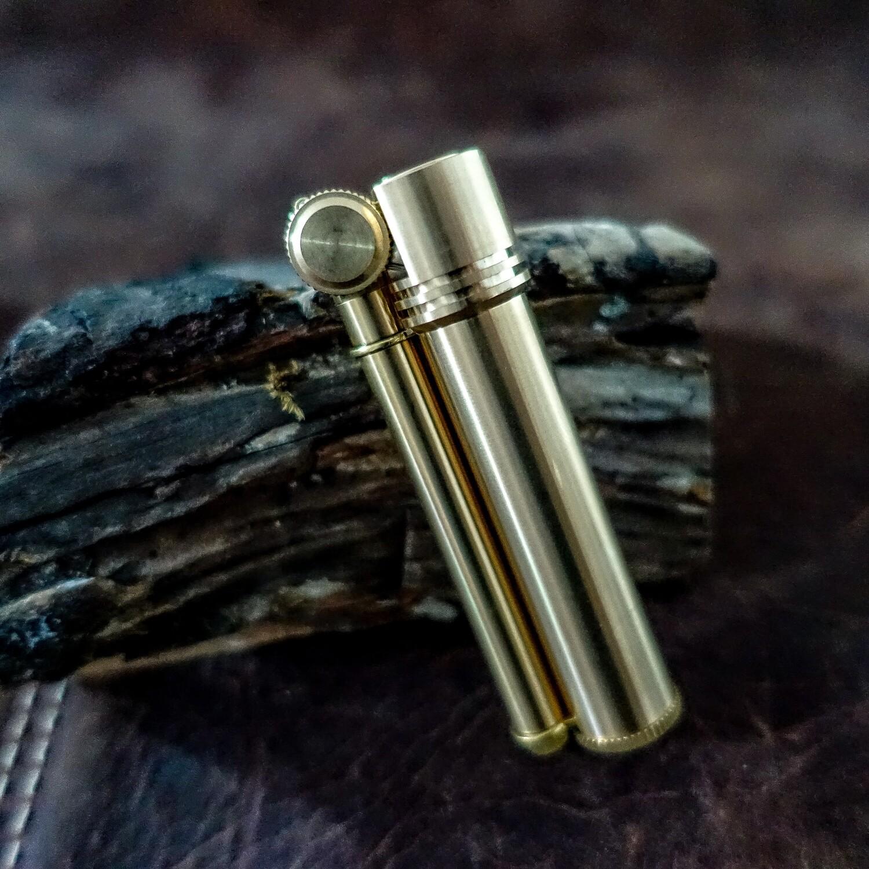 Douglass Field L Lighter, Brass