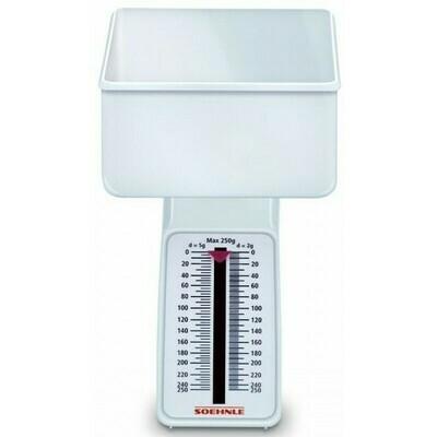 Soehnle Combi White Analog Kitchen Scale 65601