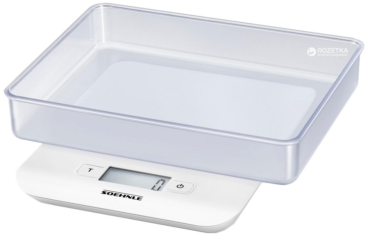 Soehnle Compact Digital Kitchen Scale 65122