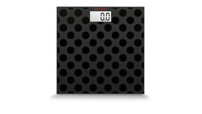 Soehnle Maya Black Dots Personal Digital Scale 63358