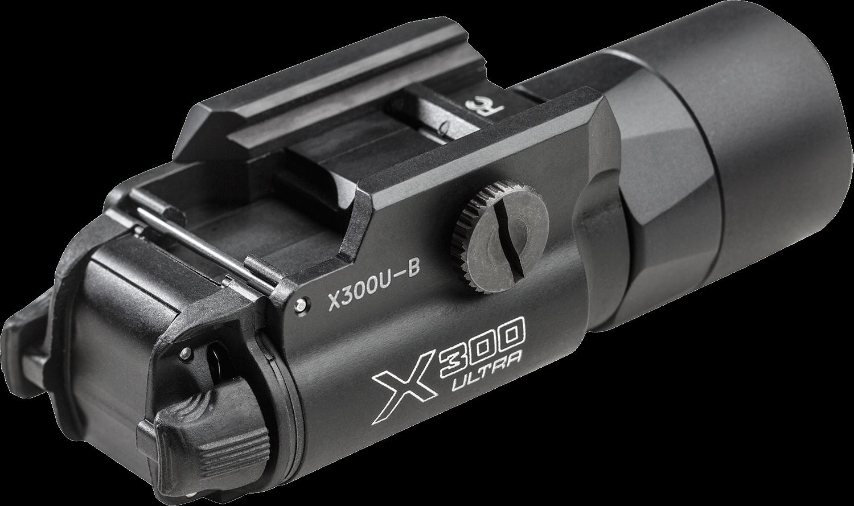 Surefire 1,000 Lumens LED Handgun Light With T-Slot Mounting Rail X300U-B