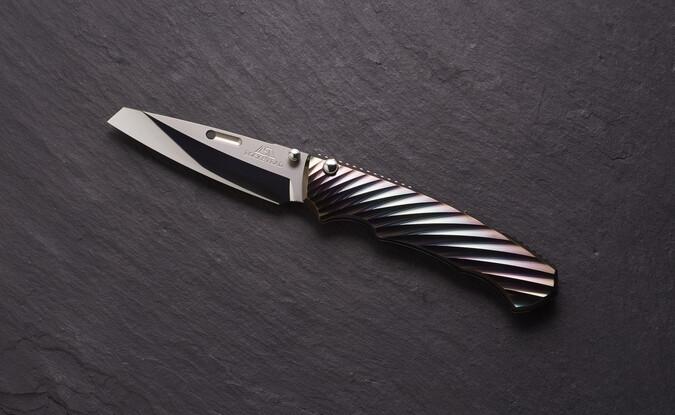 Rockstead Folding Knife RYO ZDP (DP) DLC Prism Handles Coating Series (PRE ORDER)