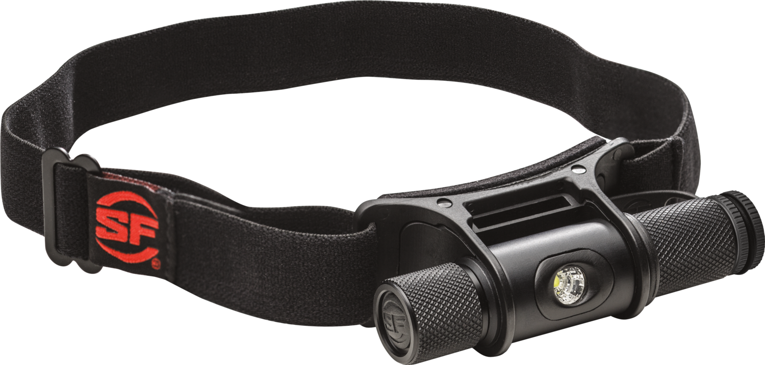 Surefire 300 Lumens MINIMUS Variable-Output Headlamp HS2-MV-A-BK