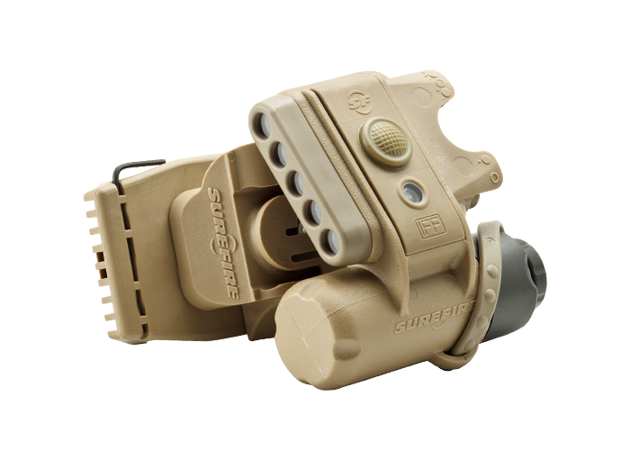 Surefire  HL1-B-TN Helmet Light  LEDs — 3 White, 2 Infrared, 1 Infrared IFF (PRE ORDER)