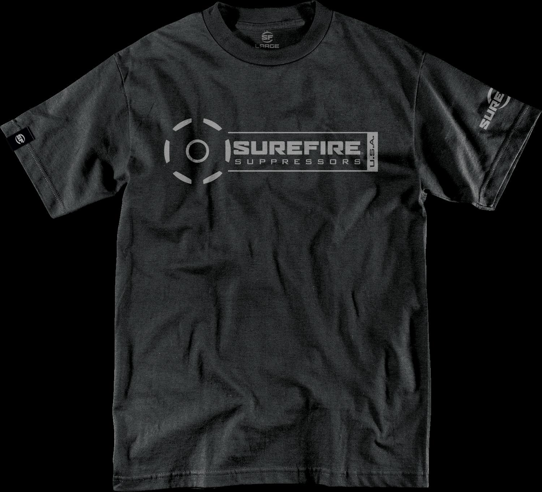 Surefire  T-shirt Suppressor Stamp Black