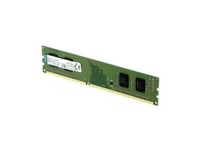 Kingston 4GB 288-Pin DDR4 SDRAM DDR4 2400 (PC4 19200) Desktop Memory KVR24N17S6/4