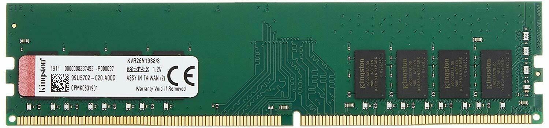 Kingston 8GB DDR4 2666MHz Sodimm RAM KVR26S19S8/8