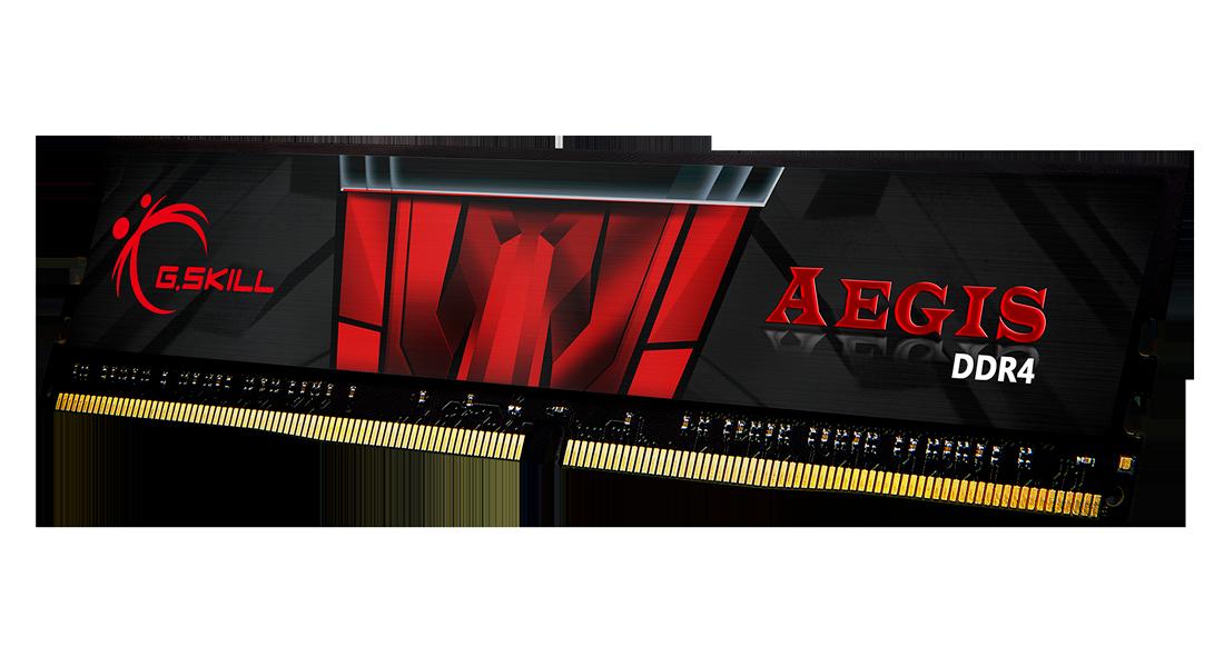 G.Skill DDR4-2666MHz CL19-19-19-43 1.20V 8GB (1x8GB)  F4-2666C19S-8GIS