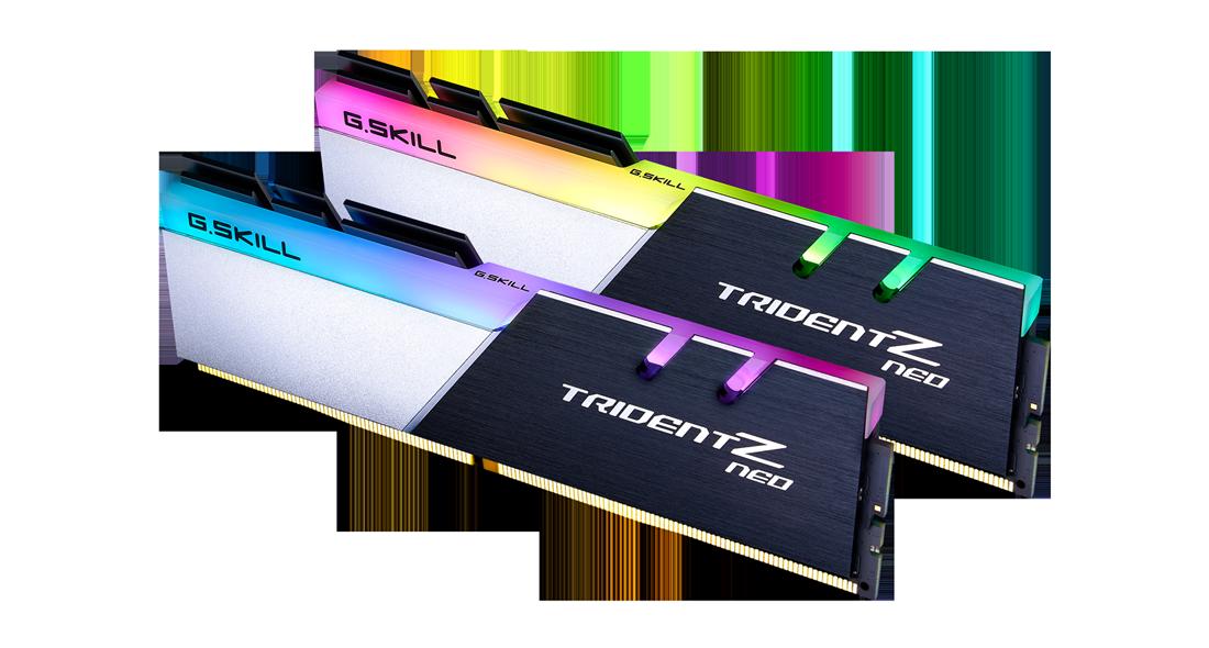 G.Skill DDR4-3200MHz CL16-18-18-38 1.35V 32GB (2x16GB) F4-3200C16D-32GTZN