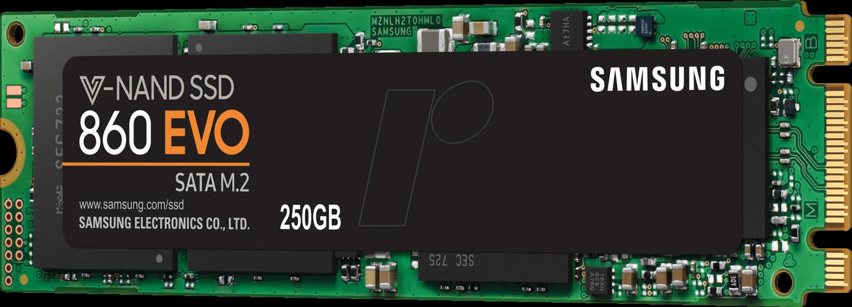 Samsung 860 EVO SATA M.2 SSD 250GB MZ-N6E250BW