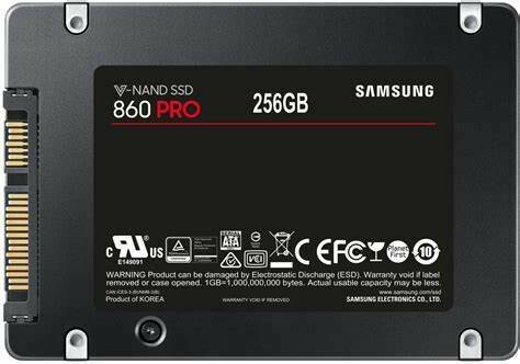 "Samsung 860 PRO SATA 2.5"" SSD 256GB MZ-76P256BW"