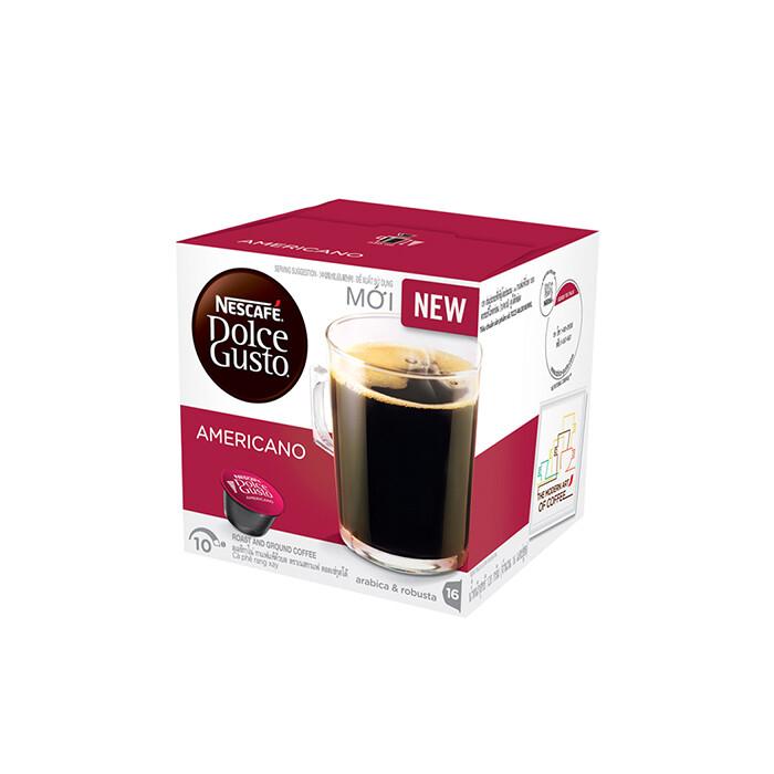 Nescafe Dolce Gusto Americano 16 Capsules Per Box
