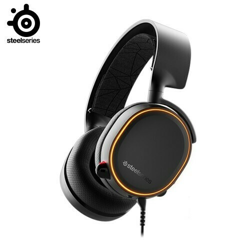 SteelSeries Arctis 5 (2019 Edition) RGB 7.1 DTS Headphone:X v2.0 Black 61504