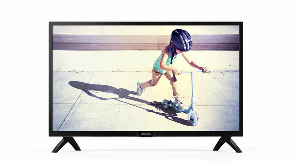 "Philips Slim LED TV  32"" 32PHT4002S/98"