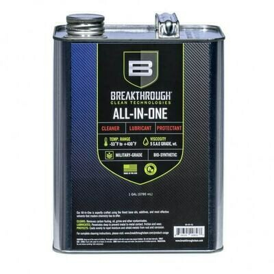 Breakthrough Clean All-in-One (CLP) – Cleaner, Lubricant and Protectant 1gl Can BB-AIO-1GL