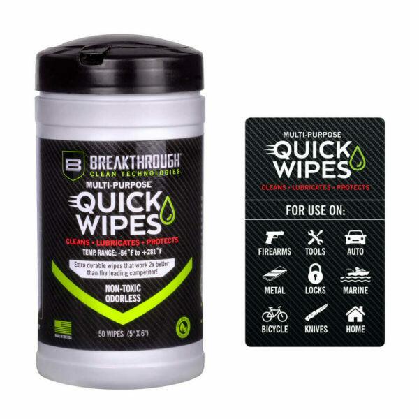 Breakthrough Clean Multi-Purpose Quick Wipes BT-CLP-QW-50